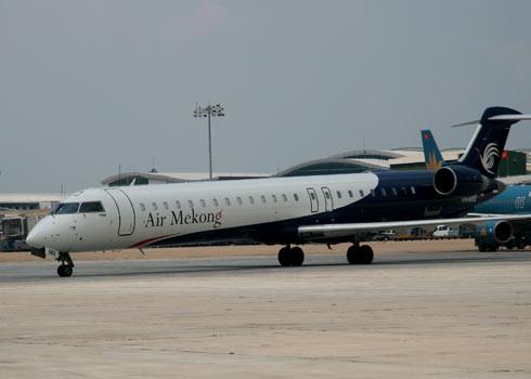 AirMekong bay Côn Đảo sử dụng loại máy bay Bombardier CRJ-900