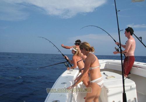 câu cá côn đảo